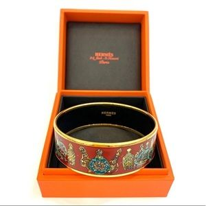 "Hermès ""Flacons"" bracelet 65"